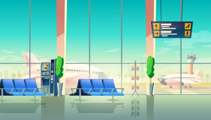 ბათუმის აეროპორტის შიდა სივრცე